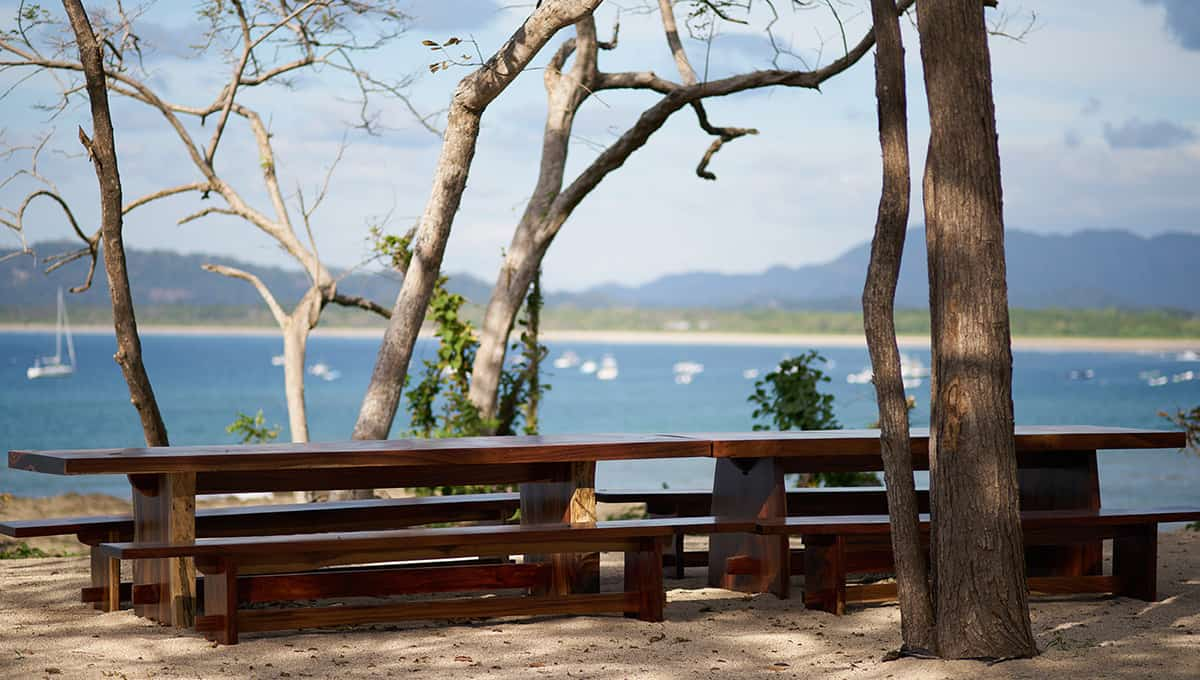 islita-picnictablesview-tamarindo