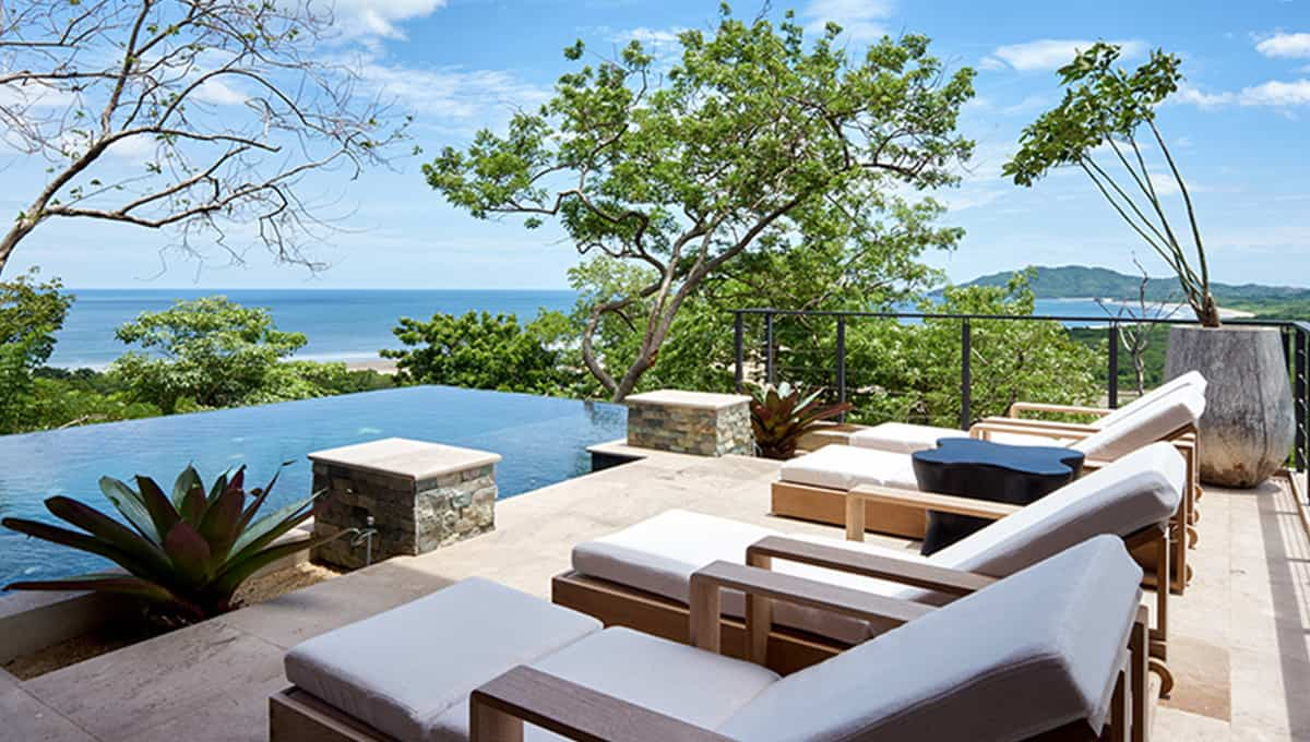casa lucy view beach lounge day time tamarindo