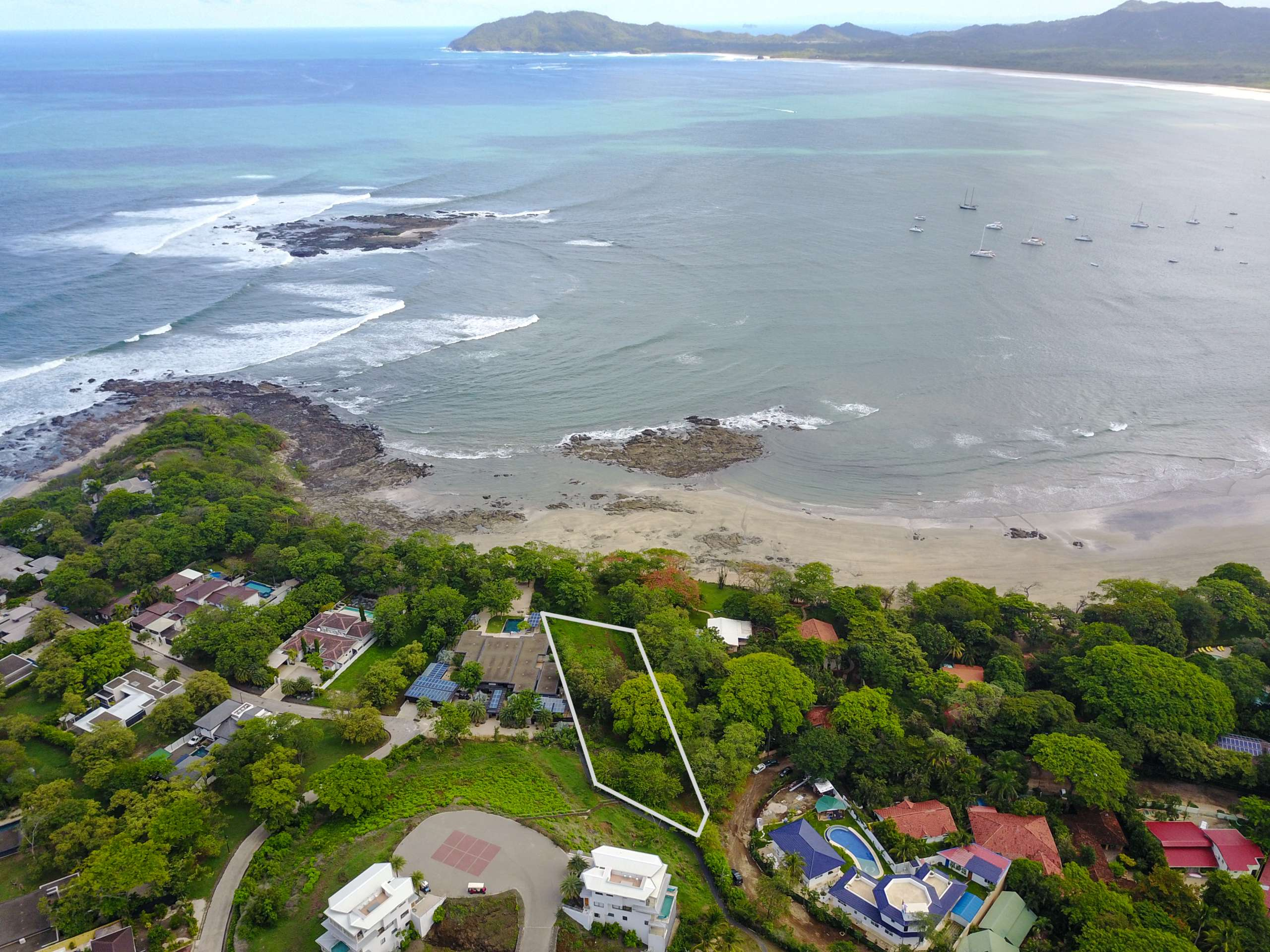 Rare Titled Ocean Front Parcel on Tamarindo Beach